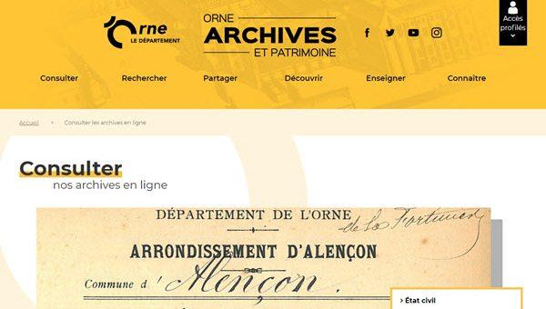 Archive Orne