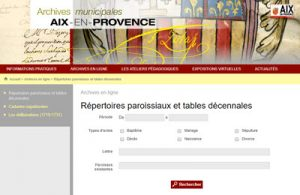 Archives communales