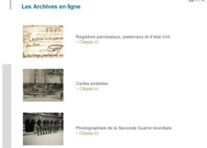 Archives de la Charente Maritime