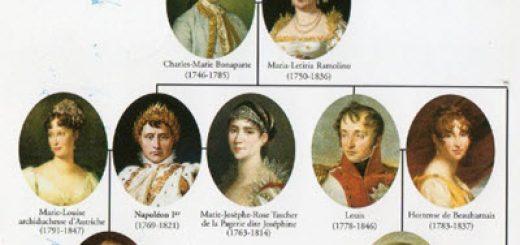 généalogie Bonaparte