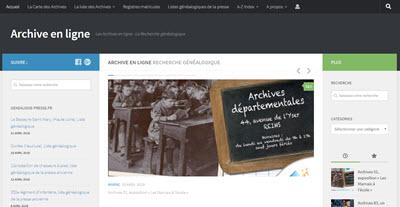 Site archiveenligne