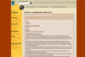 archives communales 31