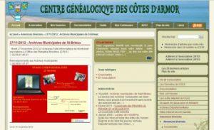 centre genealogique des cotes d arrmor