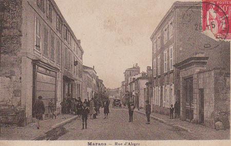 Marans Maine et Loire
