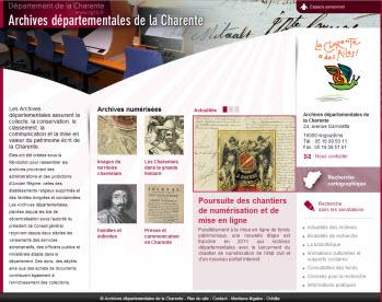 Archives de la Charente