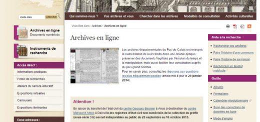 archives Pas de Calais