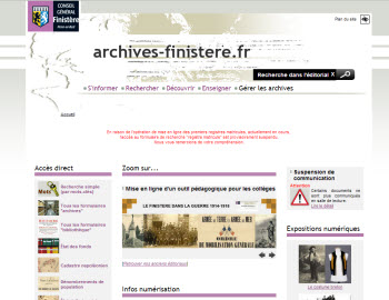 archives Finistère