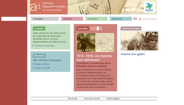 Archives Départementales de Saône et Loire