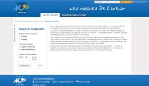 registres matricules Morbihan