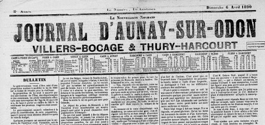 journal d'aunay sur odon