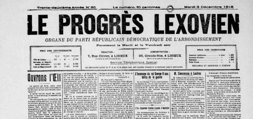 le progres lexovien mardi3dec1918