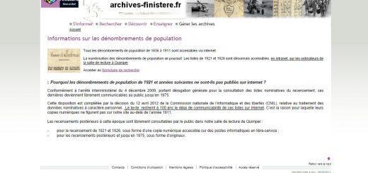 Archives du Finistère