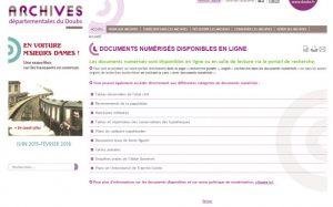 archives du Doubs