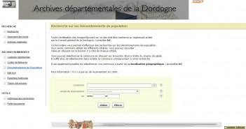 archives Dordogne