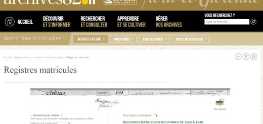 registre matricule Tarn et Garonne