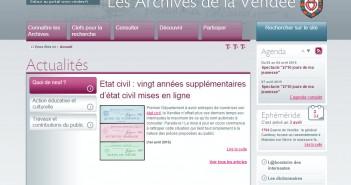 archives Vendée