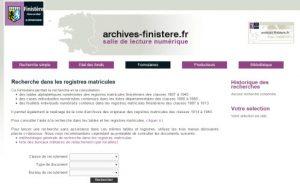registres matricules 29