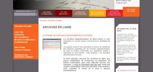 archives du Nord