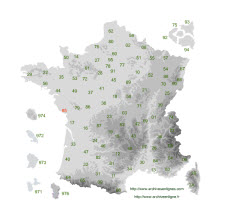 archiveenligne carte