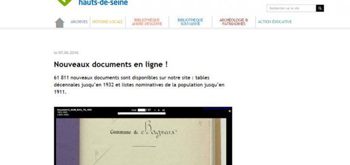Archives Hauts de Seine