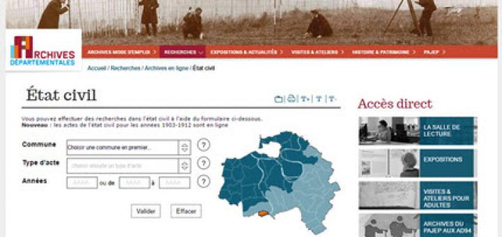 Etat civil Val de Marne