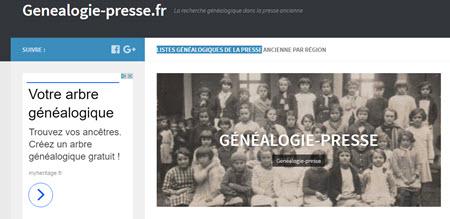 genealogie presse
