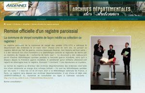 registre Verpel Ardennes