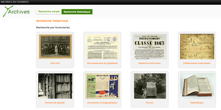 Archives du Calvados