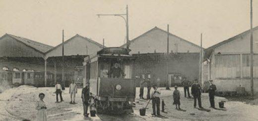Bagneux depot des tramways