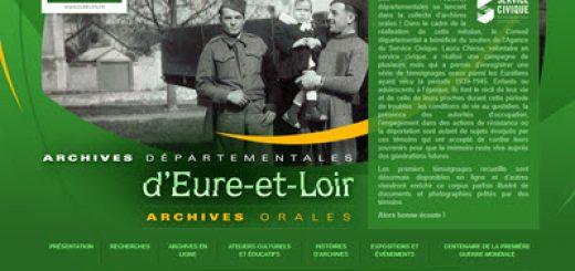 Archives Orales d'Eure-et-Loir