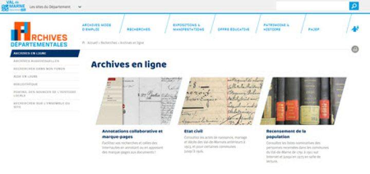 Archives Val de Marne